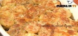 ricetta Gratin di carciofi e patate cotto e mangiato