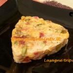 ricetta Lasagne tripudio di verdure cotto e mangiato