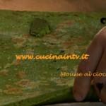 Ricetta Mousse al cioccolato bianco per il programma Il Re del Cioccolato di Ernst Knam su Real Time