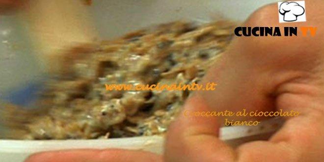 Croccante al cioccolato bianco ricetta Ernst Knam da Il Re del Cioccolato