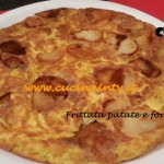 Frittata patate e formaggio ricetta Cotto e mangiato