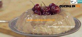 Ricetta Parodi del Bavarese alle ciliegie per Molto Bene su Real Time