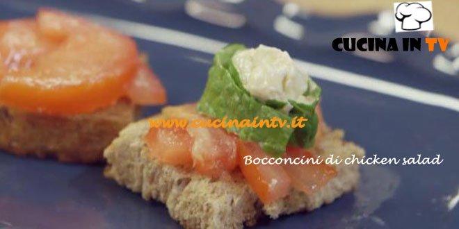 Ricetta Bocconcini di Chicken Salad di Benedetta Parodi per Molto Bene su Real Time