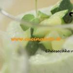 Ricetta Parodi del Cheesecake ricotta e zucchine per Molto Bene su Real Time