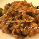 Caponata a modo mio ricetta Tessa Gelisio Cotto e Mangiato per cucinaintv