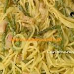 Ricetta Carbonara di asparagi per La Prova del Cuoco su Rai Uno