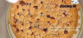 Ricetta Dolce alle ciliegie e marmellata di amarene per La Prova del Cuoco su Rai Uno