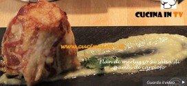 Flan di merluzzo su salsa di gambi di carciofo ricetta Ilenia da MasterChef su Sky