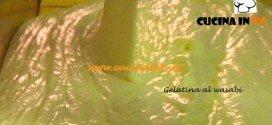 Gelatina al wasabi ricetta Ernst Knam