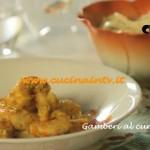 Gamberi al curry con noodles ricetta Csaba dalla Zorza su Real Time