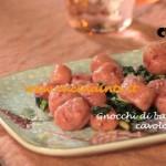 Gnocchi di barbabietola al cavolo nero ricetta Csaba dalla Zorza su Real Time