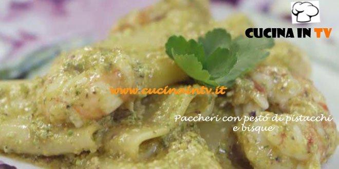 Paccheri Con Bisque E Pesto Di Pistacchi Ricetta Parodi Da Molto Bene