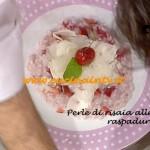 Ricetta Barzetti della Prova del cuoco - Risotto ciliegie e raspadura