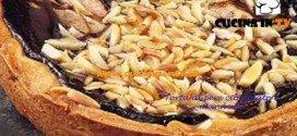 Torta di pere cioccolato e mandorle ricetta Ernst Knam
