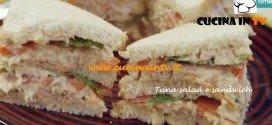 Ricetta Parodi del Tuna salad e sandwich per Molto Bene su Real Time