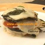 Ricetta Tortino di verdure estive di Tessa Gelisio da Cotto e Mangiato