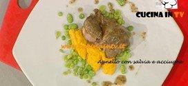 Ricetta Agnello con salvia e acciughe di Andrea Ribaldone da La Prova del cuoco