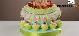 Cassata ricetta del cake designer di Real Time Renato Ardovino per il programma Torte in corso