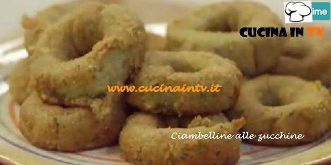 Ciambelline alle Zucchine ricetta Parodi Molto Bene