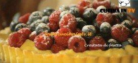 Crostata di frutta ricetta Csaba dalla Zorza su Real Time