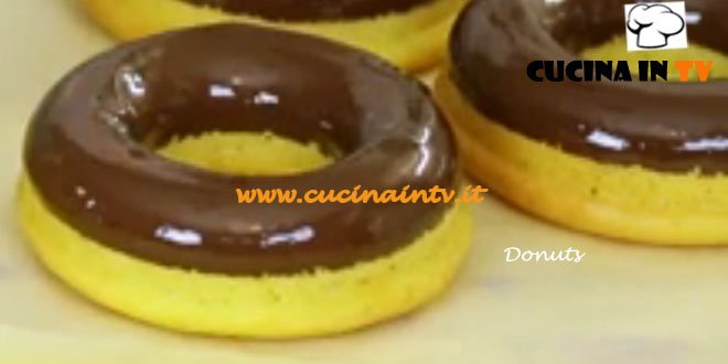 Donuts ricetta Junk Good su Real Time