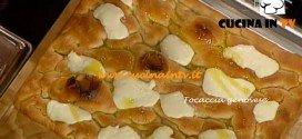Focaccia genovese ricetta Bonci da La Prova del cuoco