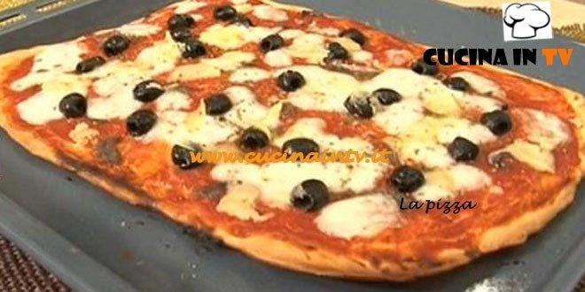 Pizza ricetta Tessa Gelisio da Cotto e Mangiato