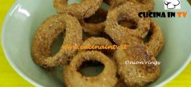 Onion rings ricetta Junk Good su Real Time