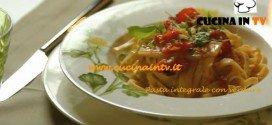 Pasta integrale con verdure ricetta Csaba dalla Zorza su Real Time