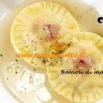 Ricetta Enrica di Masterchef 3 dal titolo Ravioli di mare a sorpresa