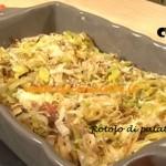 Ricetta Rotolo di patate e speck da Cotto e Mangiato di Tessa Gelisio
