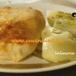 Salmone in crosta ricetta Csaba dalla Zorza su Real Time