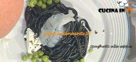 Ricetta Spaghetti alle seppie di Gianfranco Pascucci da La Prova del cuoco