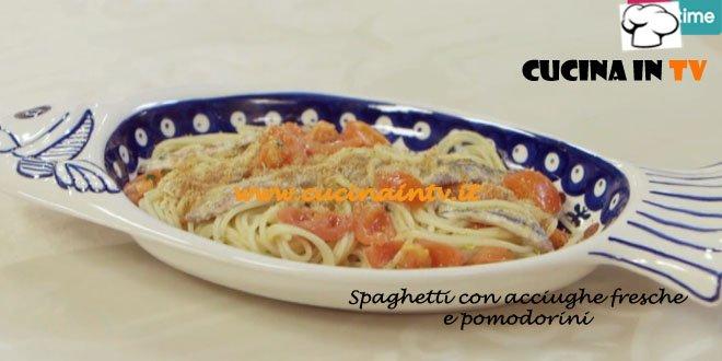 Spaghetti con Acciughe Fresche e Pomodorini ricetta Parodi Molto Bene