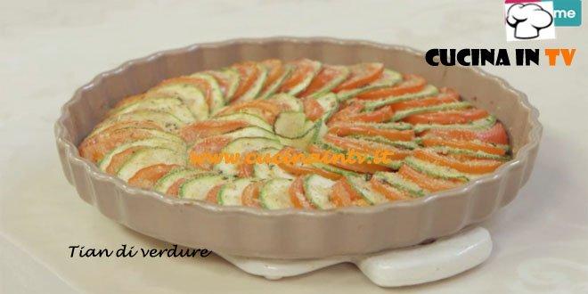 Tian di verdure ricetta Parodi da Molto Bene