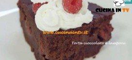 Ricetta Torta Cioccolato e Lamponi di Benedetta Parodi da Molto Bene su Real Time
