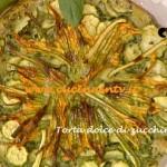 Ricetta Torta dolce di zucchine di Luisanna Messeri da La Prova del cuoco