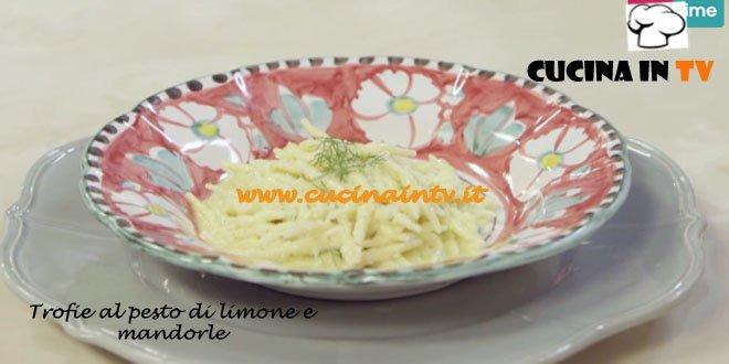 Trofie fresche al Pesto di Limone e Mandorle ricetta Parodi da Molto Bene