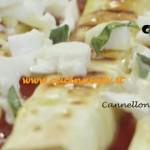 Ricetta Cannelloni Grigliati alle Melanzane di Benedetta Parodi da Molto Bene su Real Time