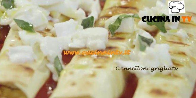 Cannelloni Grigliati alle Melanzane ricetta Parodi Molto Bene