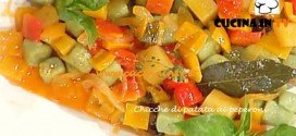 Chicche di patata ai peperoni ricetta Barzetti da La Prova del cuoco
