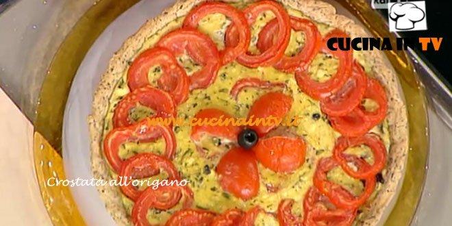 Crostata all'origano ricetta Moroni da La Prova del cuoco