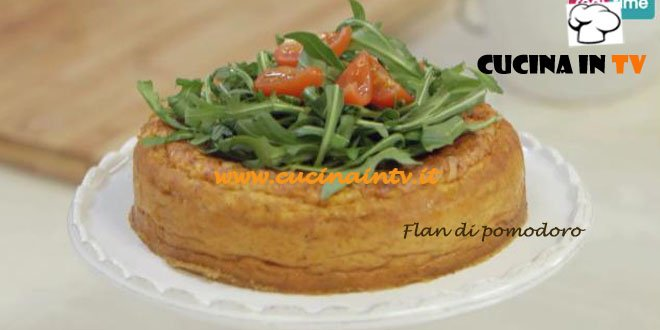 Flan al Pomodoro ricetta Parodi Molto Bene