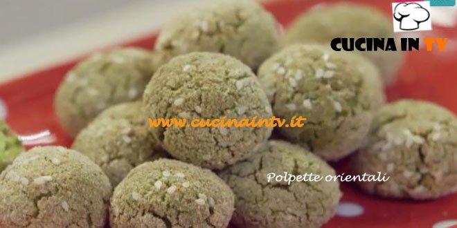 Polpette Orientali di Piselli ricetta Parodi Molto Bene