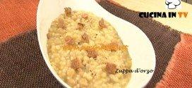 Ricetta Zuppa d'orzo da Cotto e Mangiato di Tessa Gelisio