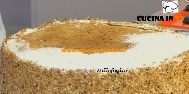 Ricetta torta millefoglie benedetta parodi