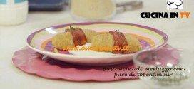 Merluzzo ai Peperoni con Purè di Topinambur ricetta Parodi per Molto Bene