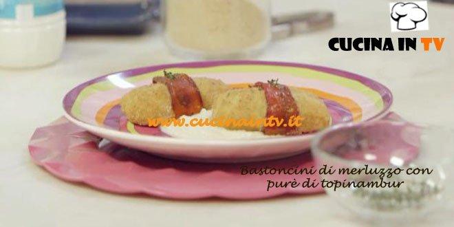 Merluzzo ai Peperoni con Purè di Topinambur ricetta Parodi Molto Bene