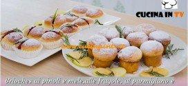 Bake Off Italia: ricetta Brioches ai pinoli mele fragole parmigiano e spezie di Mimma
