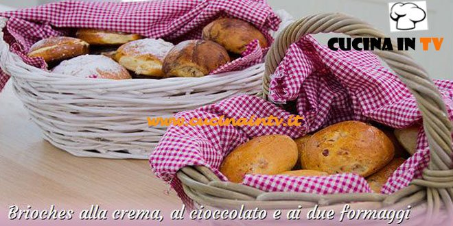 Bake Off Italia: ricetta Brioches alla crema cioccolato e ai due formaggi di Alfredo